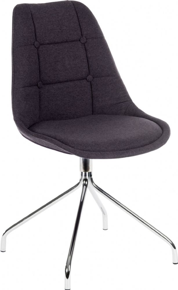 TEKNIK (PACK OF 2) Breakout, Meeting, Reception Chair with Modern Chrome Legs